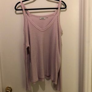 Purple thermal top from Urban Outfitters